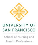 University of San Francisco School of Nursing and Health Professions logo