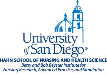 University of San Diego Hahn School of Nursing and Health Science logo