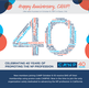 Celebrate CANP's 40th Anniversary on Social Media